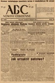 ABC : nowiny codzienne. 1936, nr328