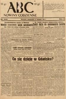 ABC : nowiny codzienne. 1936, nr329