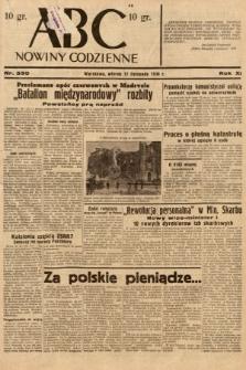ABC : nowiny codzienne. 1936, nr330