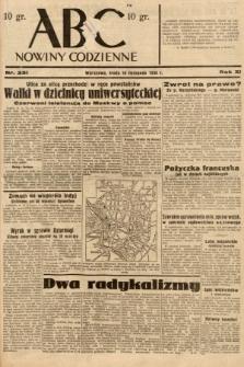 ABC : nowiny codzienne. 1936, nr331