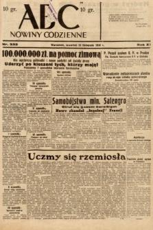 ABC : nowiny codzienne. 1936, nr332