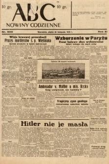 ABC : nowiny codzienne. 1936, nr333