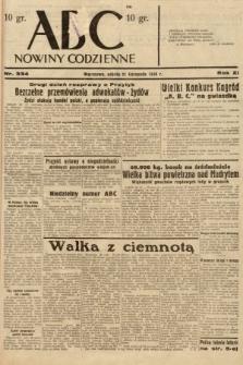 ABC : nowiny codzienne. 1936, nr334