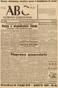 ABC : nowiny codzienne. 1936, nr335