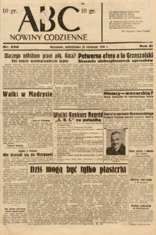 ABC : nowiny codzienne. 1936, nr336