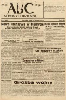 ABC : nowiny codzienne. 1936, nr337