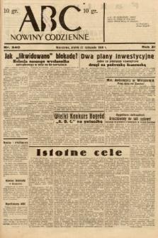 ABC : nowiny codzienne. 1936, nr340