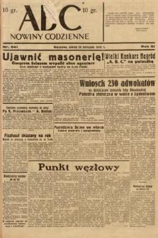 ABC : nowiny codzienne. 1936, nr341
