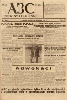 ABC : nowiny codzienne. 1936, nr343