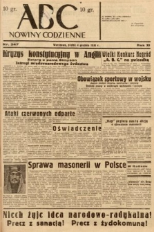 ABC : nowiny codzienne. 1936, nr347