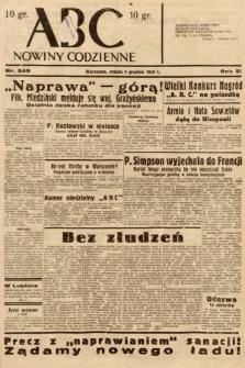 ABC : nowiny codzienne. 1936, nr348