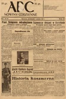 ABC : nowiny codzienne. 1936, nr350