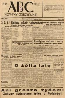 ABC : nowiny codzienne. 1936, nr351