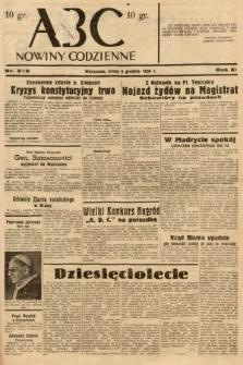 ABC : nowiny codzienne. 1936, nr352