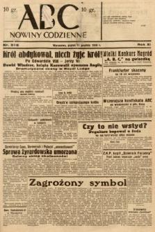 ABC : nowiny codzienne. 1936, nr355