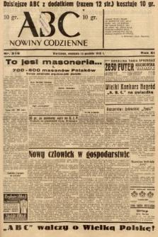 ABC : nowiny codzienne. 1936, nr358