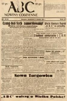 ABC : nowiny codzienne. 1936, nr359