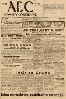 ABC : nowiny codzienne. 1936, nr360