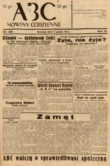 ABC : nowiny codzienne. 1936, nr361