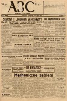 ABC : nowiny codzienne. 1936, nr362