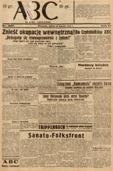 ABC : nowiny codzienne. 1936, nr367