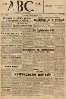 ABC : nowiny codzienne. 1936, nr368