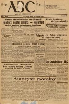 ABC : nowiny codzienne. 1936, nr373
