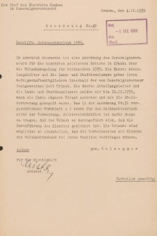 Anordnung. 1939, nr42