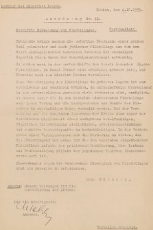 Anordnung. 1939, nr44