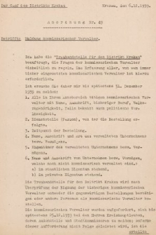 Anordnung. 1939, nr49