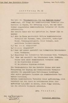 Anordnung. 1939, nr53
