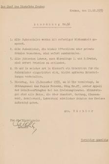 Anordnung. 1939, nr56