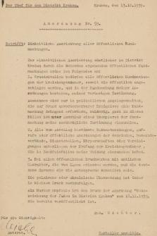 Anordnung. 1939, nr59