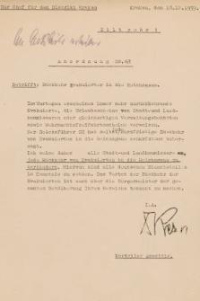 Anordnung. 1939, nr63