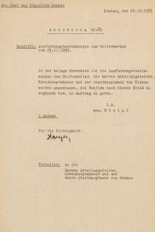 Anordnung. 1939, nr69