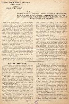 Biuletyn. 1939, nr 1