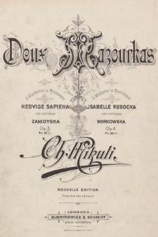 Mazourka : op. 3