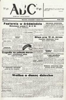ABC : nowiny codzienne. 1938, nr3 A