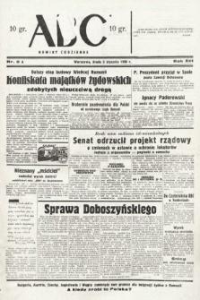 ABC : nowiny codzienne. 1938, nr5 A