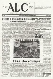 ABC : nowiny codzienne. 1938, nr6 A