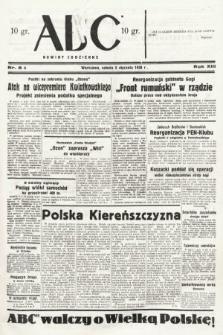 ABC : nowiny codzienne. 1938, nr8 A