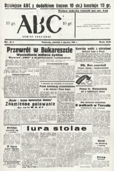 ABC : nowiny codzienne. 1938, nr9 A