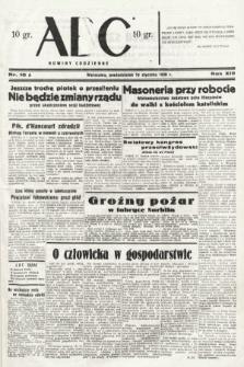 ABC : nowiny codzienne. 1938, nr10 A