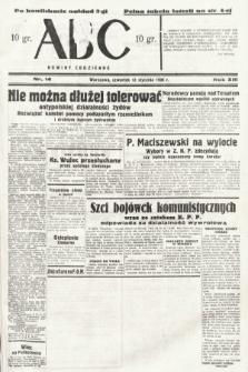 ABC : nowiny codzienne. 1938, nr14 [ocenzurowany]