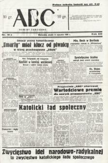 ABC : nowiny codzienne. 1938, nr15 A