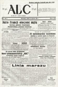 ABC : nowiny codzienne. 1938, nr16 A