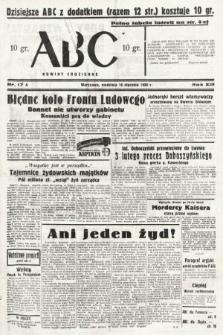 ABC : nowiny codzienne. 1938, nr17 A