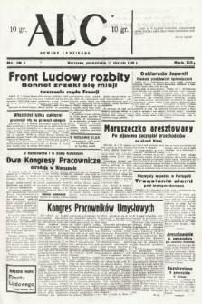 ABC : nowiny codzienne. 1938, nr18 A