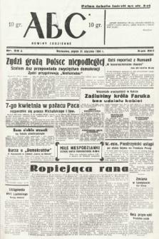 ABC : nowiny codzienne. 1938, nr22 A