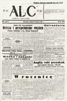ABC : nowiny codzienne. 1938, nr23 A
